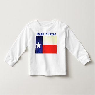 Made In Texas Toddler Tee Shirt