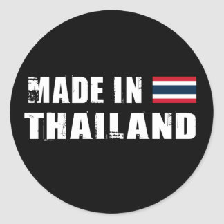 Made in Thailand Classic Round Sticker