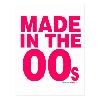 Made In The 00s Postcard