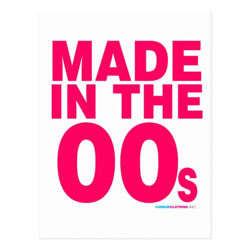 Made In The 00s Post Cards