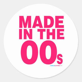 Made In The 00s Round Sticker