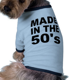 Made in the 50s - Birthday Dog Clothing