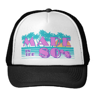 Made in the 80 s mesh hats