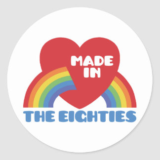 Made in the 80 s stickers