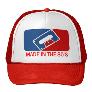 Made in the 80s mesh hats