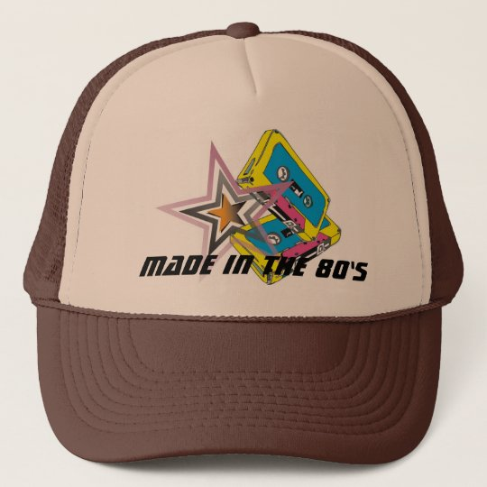 Made In The 80's Retro Trucker Hat