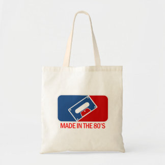 Made in the 80s budget tote bag