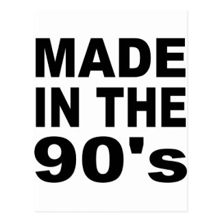 Made in the 90s - Birthday Postcard