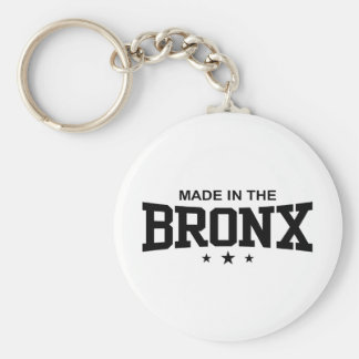 Made in the Bronx Basic Round Button Key Ring
