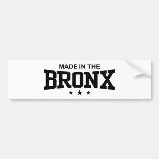 Made in the Bronx Bumper Sticker