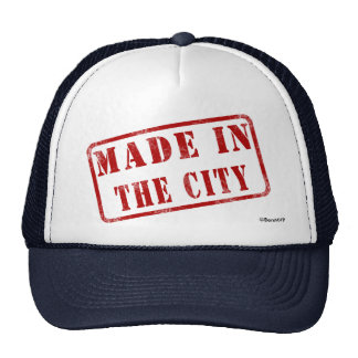 Made in The City Mesh Hat