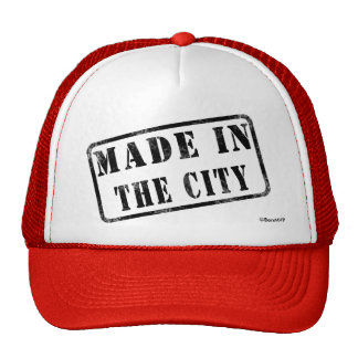 Made in The City Trucker Hat