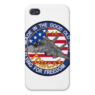 Made in the good old USA flying for freedom iPhone iPhone 4/4S Cover