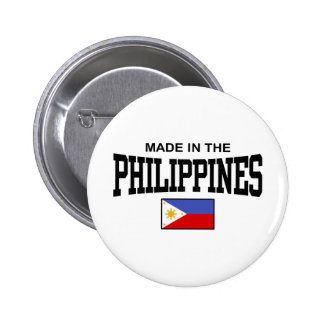 Made In The Philippines 6 Cm Round Badge