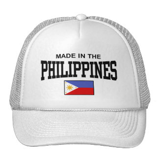 Made In The Philippines Hat