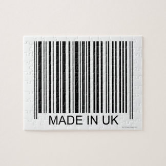 Made in the UK Jigsaw Puzzle