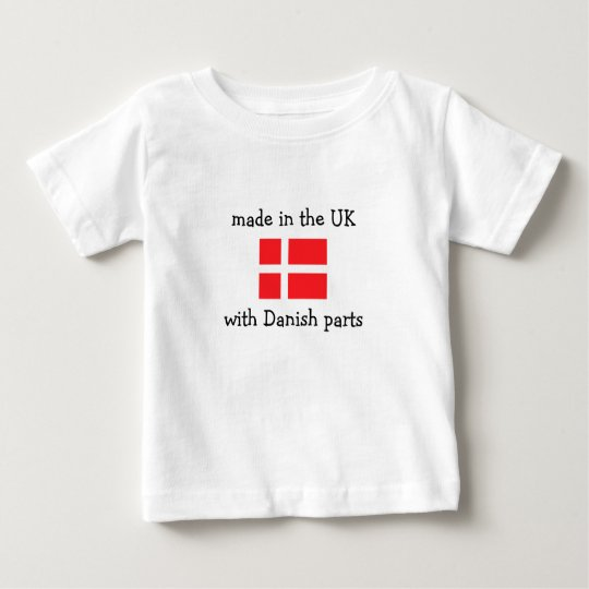 made in the UK with Danish parts Baby