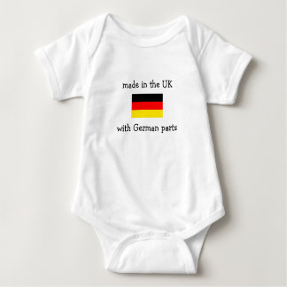 made in the UK with German parts Baby Bodysuit