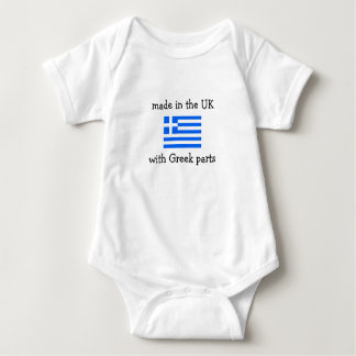 made in the UK with Greek parts Tshirts