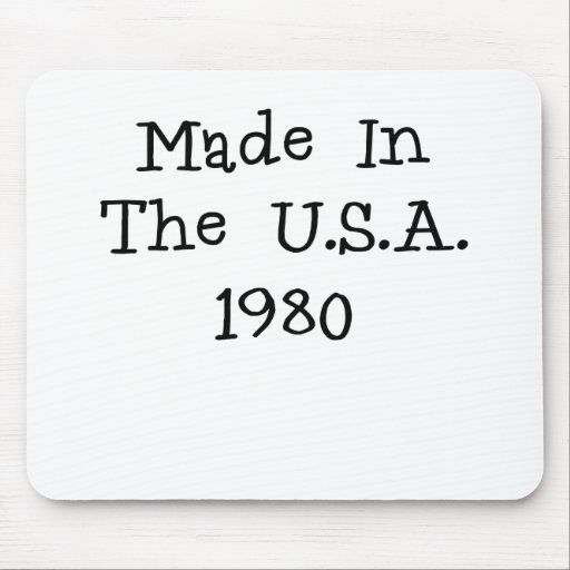 Made in the usa 1980.png mouse pads