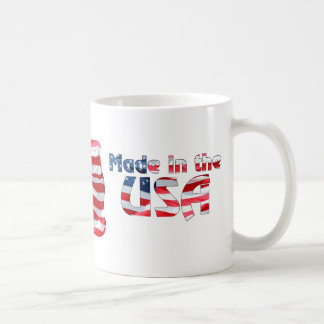 Made in the USA American Flag Mug