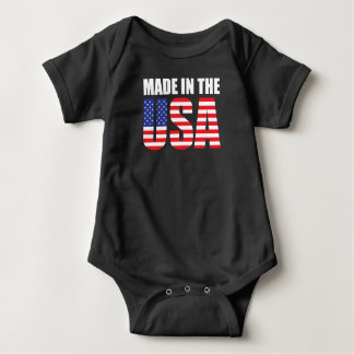 Made in the USA CHILD Baby Bodysuit