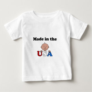 made in the USA childrens t-shirt