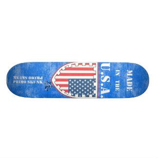 Made In The USA Flag Primo Skunk Skateboard