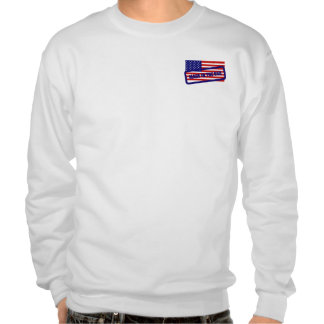 Made in the USA  Flag Stamped Sweatshirt