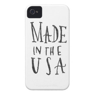 Made in the USA iPhone 4 Case-Mate Case