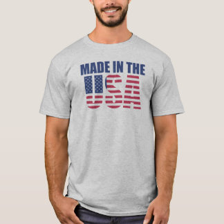 Made In The USA July 4th T-Shirt