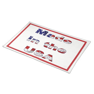 Made in the USA Placemat