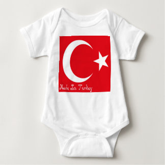 Made In Turkey Baby Bodysuit