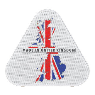 made in united kingdom map flag product label