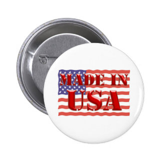 Made in USA Buttons