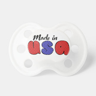 """Made in USA"" cute doodle sign, patriotic Dummy"