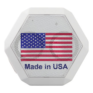 Made In USA - Make America Great Again - Bluetooth White Bluetooth Speaker