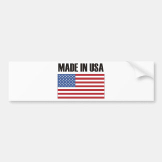 Made in USA Products & Designs! Bumper Stickers