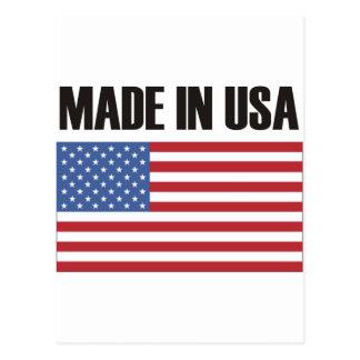 Made in USA Products & Designs! Postcard