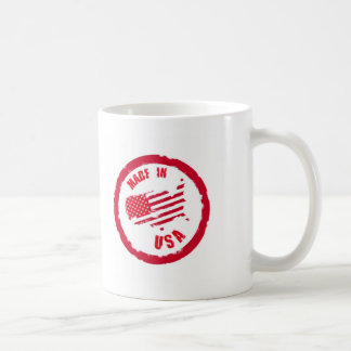 Made in USA rubber stamp design Mugs