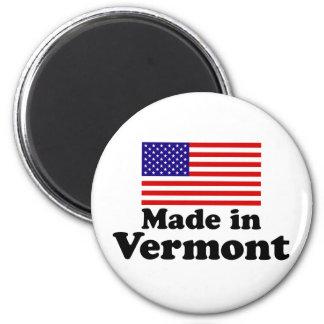 Made in Vermont 6 Cm Round Magnet