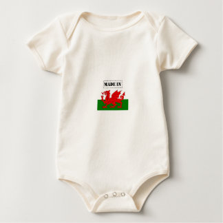 Made in Wales Baby Bodysuit