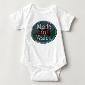 Made in Wales baby grow Baby Bodysuit