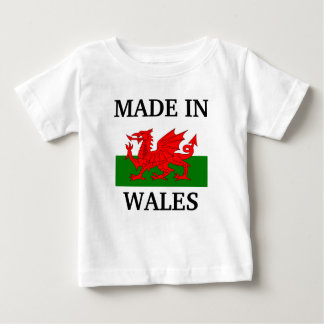 Made in Wales Baby T-Shirt