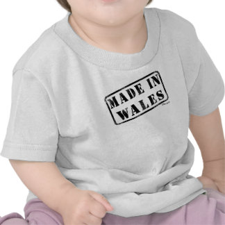 Made in Wales Tshirts