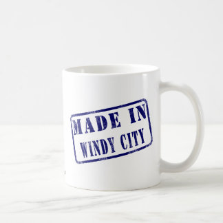 Made in Windy City Basic White Mug