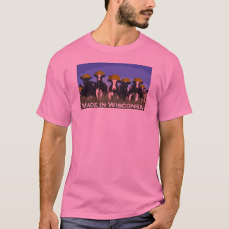 Made in Wisconsin cows T-Shirt