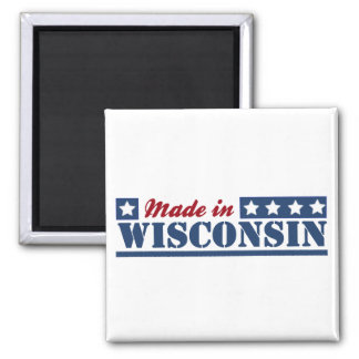 Made In Wisconsin Magnet