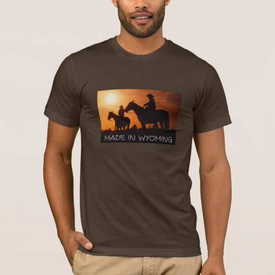 MADE IN WYOMING T-shirt