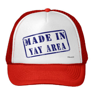 Made in Yay Area Mesh Hat